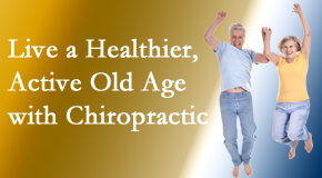 Johnson Chiropractic welcomes older patients to incorporate chiropractic into their healthcare plan for pain relief and life's fun.