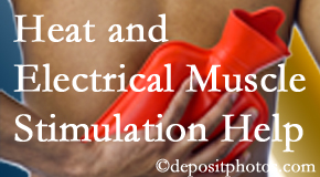 Johnson Chiropractic utilizes heat and electrical stimulation for Richmond pain relief.