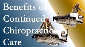 Johnson Chiropractic offers continued chiropractic care (aka maintenance care) as it is research-documented to be effective.