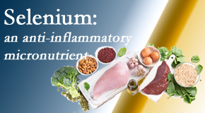Johnson Chiropractic shares information on the micronutrient, selenium, and the detrimental effects of its deficiency like inflammation.