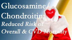Johnson Chiropractic shares new research supporting the habitual use of chondroitin and glucosamine which is shown to reduce overall and cardiovascular disease mortality.