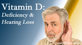 Johnson Chiropractic presents new research about low vitamin D levels and hearing loss.