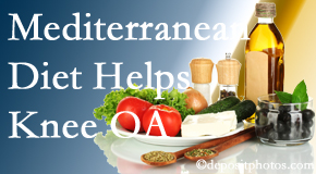 Johnson Chiropractic shares recent research about how good a Mediterranean Diet is for knee osteoarthritis as well as quality of life improvement.