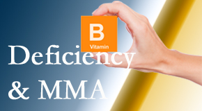 Johnson Chiropractic knows B vitamin deficiencies and MMA levels may affect the brain and nervous system functions.