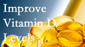 Johnson Chiropractic explains that it's beneficial to raise vitamin D levels.