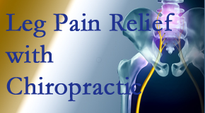 Johnson Chiropractic provides relief for sciatic leg pain at its spinal source.