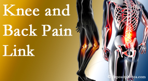 Johnson Chiropractic treats back pain and knee osteoarthritis to help prevent falls.