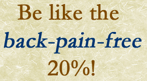 back pain free percent image