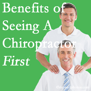Getting Richmond chiropractic care at Johnson Chiropractic first may reduce the odds of back surgery need and depression.