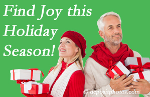 Johnson Chiropractic wishes joy for all our Richmond back pain patients to improve their back pain and their outlook on life.