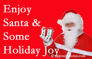 Richmond holiday joy and even fun with Santa are studied as to their potential for preventing divorce and increasing happiness.