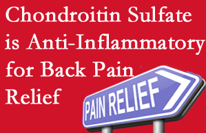 Richmond chiropractic treatment plan at Johnson Chiropractic may well include chondroitin sulfate!