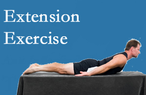 Johnson Chiropractic recommends extensor strengthening exercises when back pain patients are ready for them.