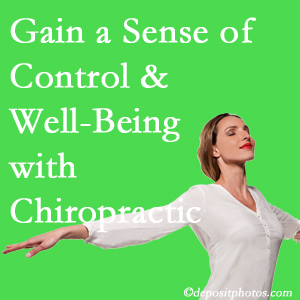 Using Richmond chiropractic care as one complementary health alternative boosted patients sense of well-being and control of their health.