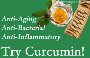 Pain-relieving curcumin may be a good addition to the Richmond chiropractic treatment plan.