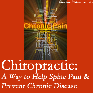 Johnson Chiropractic helps relieve musculoskeletal pain which helps prevent chronic disease.